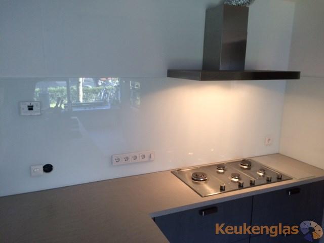 Witte keuken achterwand, Eindhoven