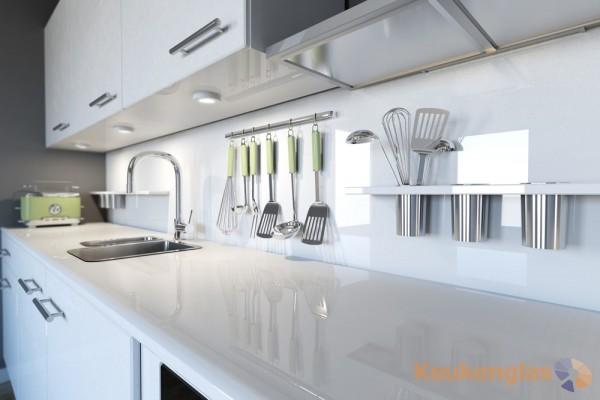 witte keukenglas achterwand