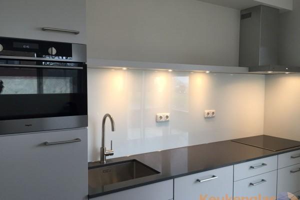 Keuken achterwand wit Rhenen