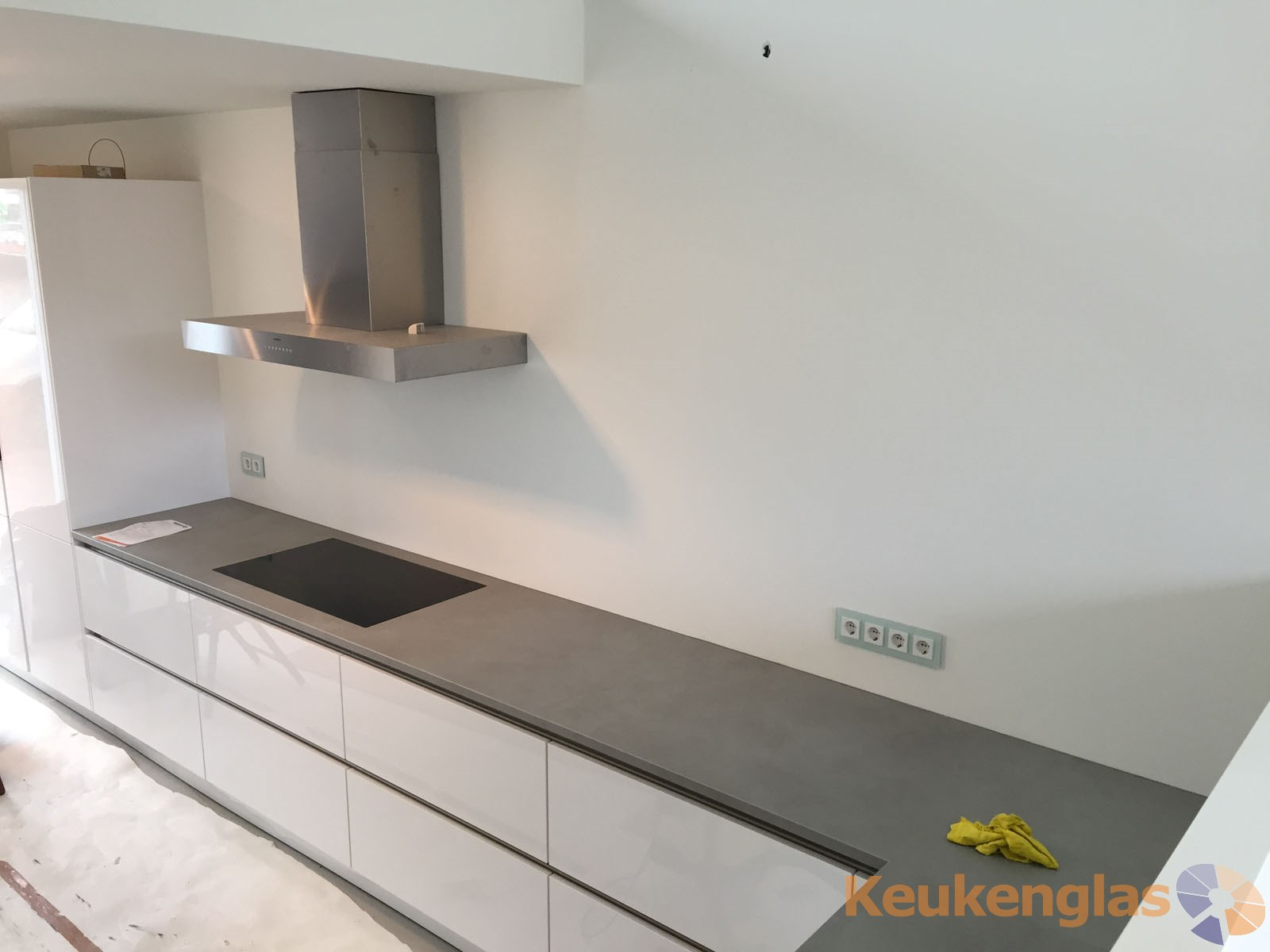 Keuken Haarlem voor plaatsing keuken achterwand