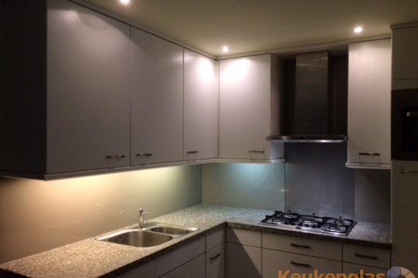 Keuken achterwand glas Waalre