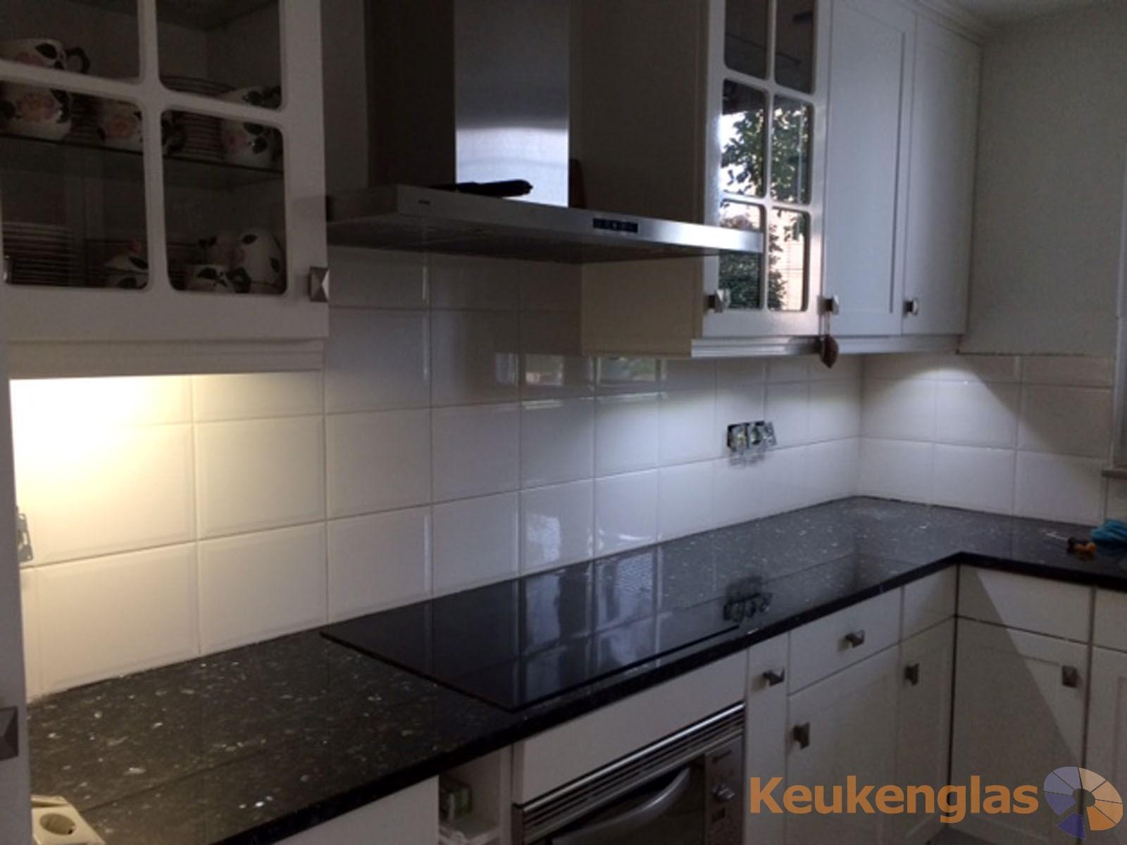 gele keuken glaswand in helmond - keukenglas, Deco ideeën