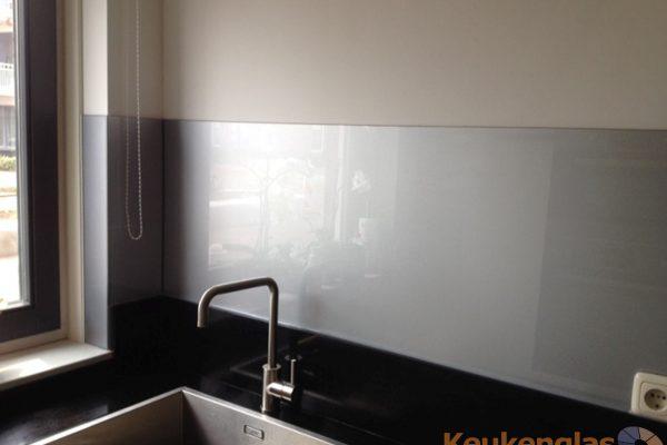 Zilver metallic keuken achterwand Horst